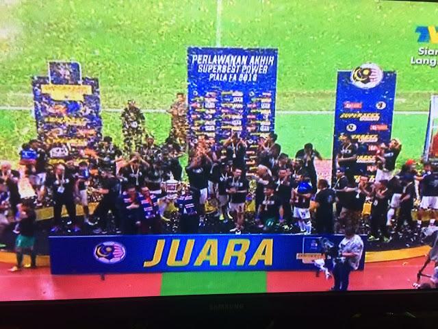 JDT Juara Piala FA 2016