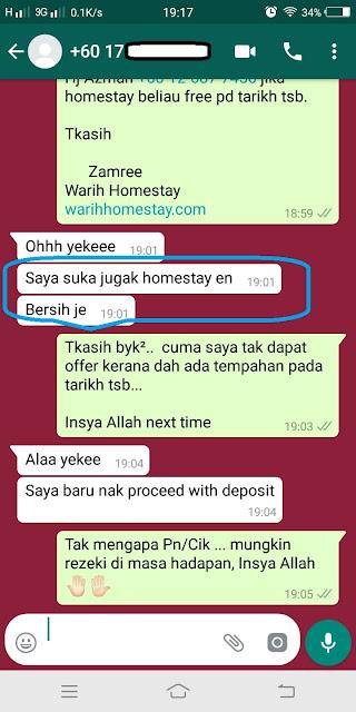 Warih-Homestay-Testimoni-Prospek