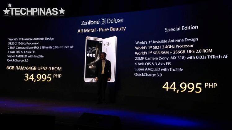 Asus ZenFone 3 Deluxe Price Philippines