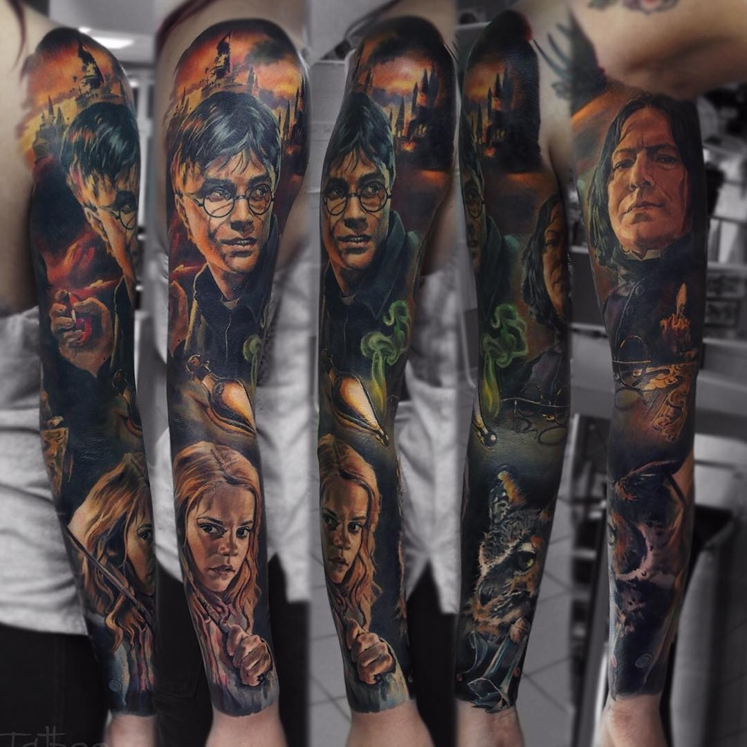 08-Harry-Potter-Valentina-Ryabova-Art-and-Realism-in-Tattoo-Drawings-www-designstack-co