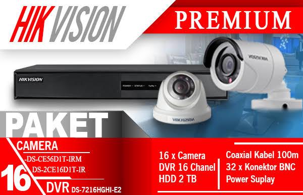 Harga dan Jasa Pasang 4 Paket  Kamera CCTV Semarang