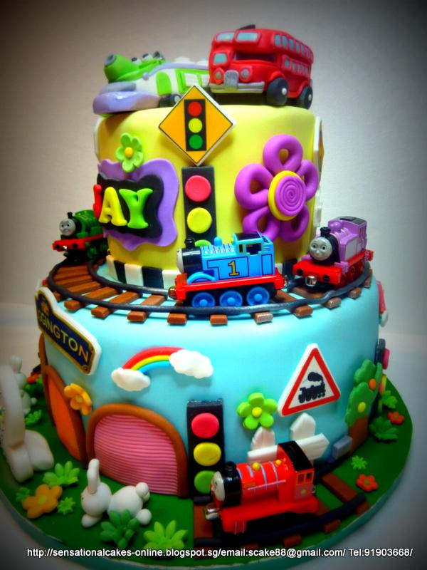 The Sensational Cakes London Bus Koko Wilson
