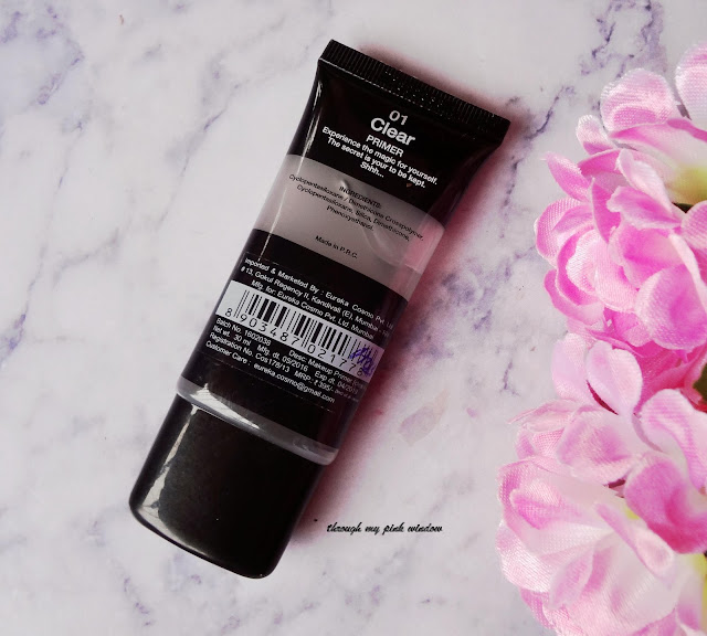 Miss Claire Studio Perfect profession Makeup Primer in 01 Clear: Review