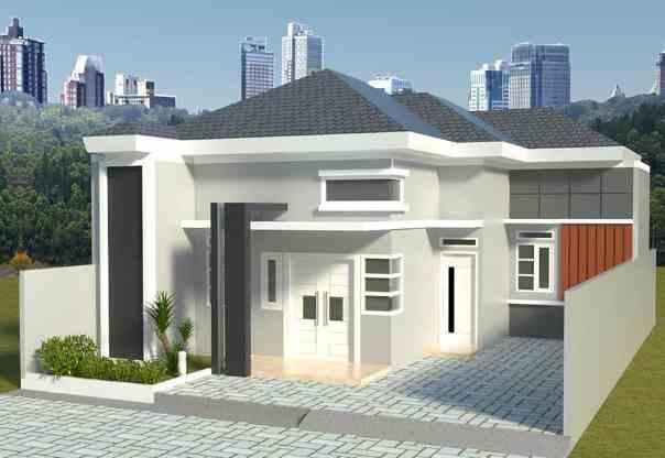 Tampak Depan Rumah Minimalis 1 Lantai