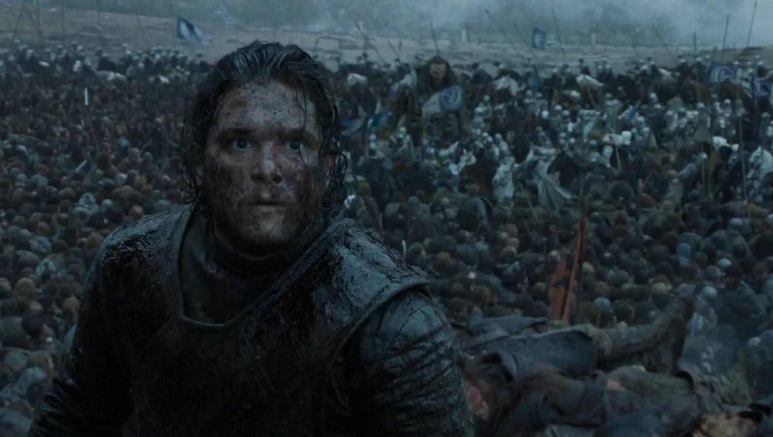 La Batalla de los Bastardos  - Jon Nieve