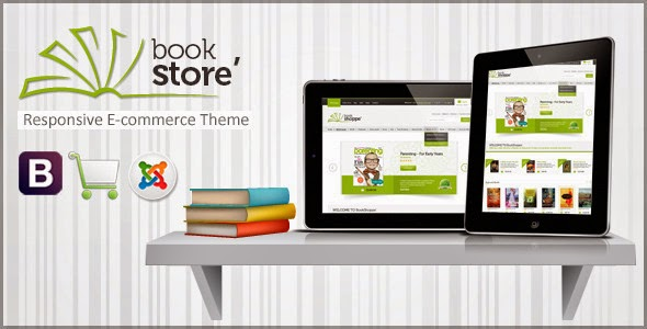 bookstore website template