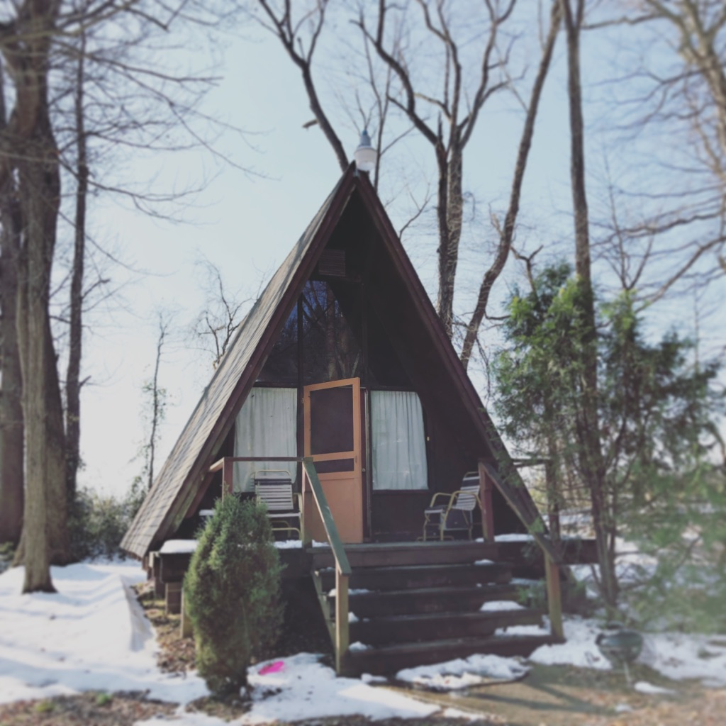 The A Frame Cabin at Mill Creek Falls Retreat Center - Campground Wedding Event Venue in York County, PA