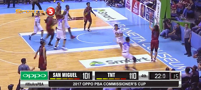 TNT def. San Miguel, 112-103 (REPLAY VIDEO) May 5
