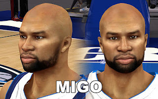 NBA 2K13 Derek Fisher Cyber Face Patch