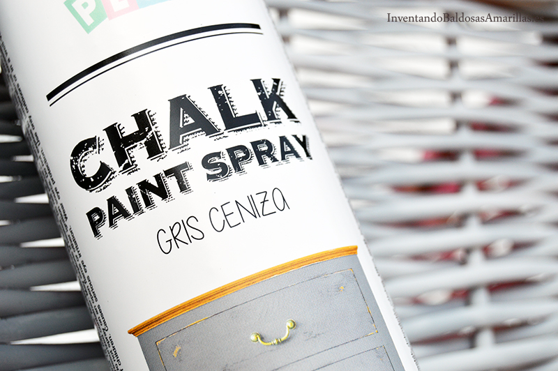 Diy pintura de tiza en spray