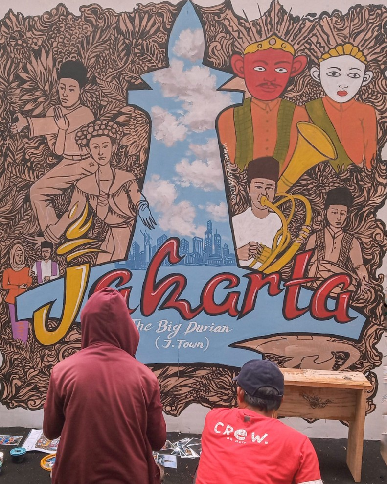 lomba mural art di jakarta