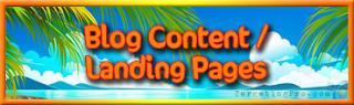 Blog Content Landing Pages Help - Targeting Pro Marketing