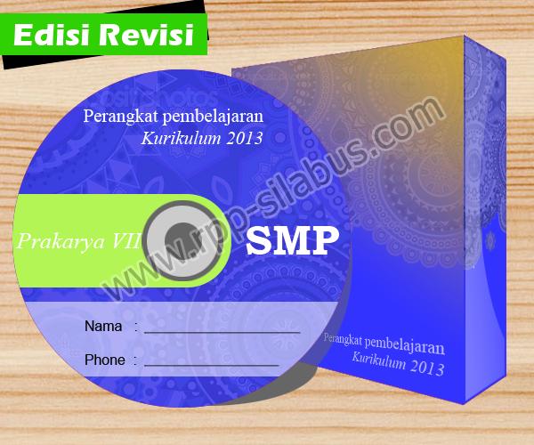 Jual Rpp Prakarya Smp Kelas Vii Kurikulum 2013 Edisi Revisi 2016