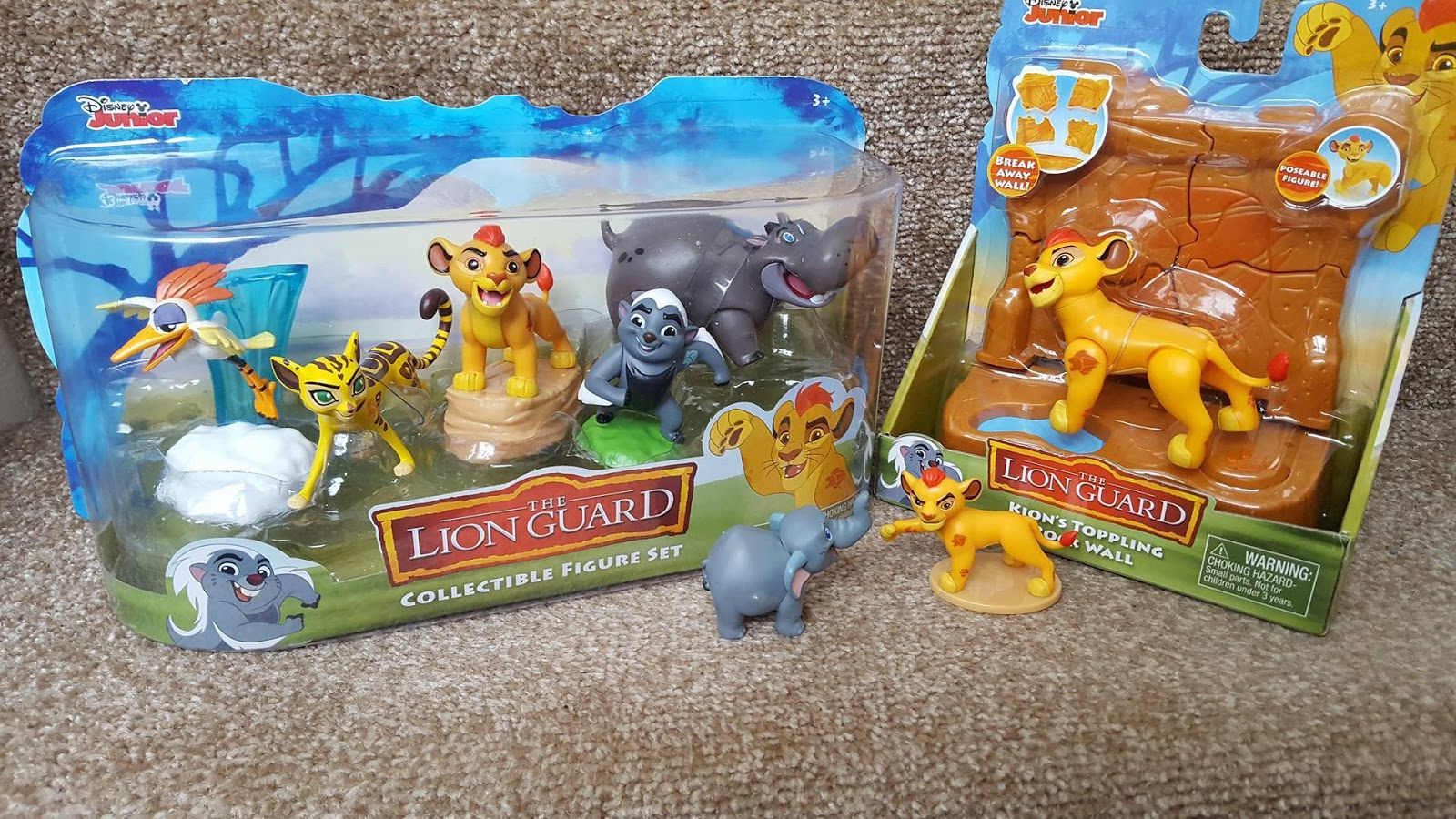Disney Junior The Lion Guard KION /& ONO Blind bag Mini Figures Series 3 2016