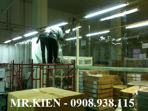 Rèm nhựa PVC ngăn giữ lạnh Nhà máy Daiichi Seiko