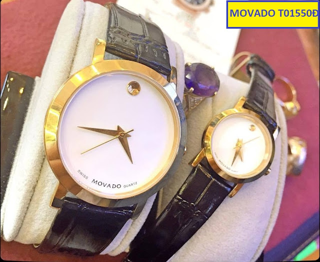 Đồng hồ dây da Movado T01550