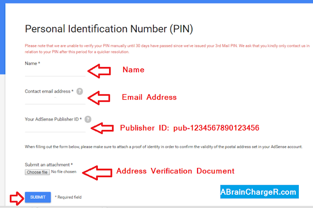 How to Verify Adsense Address without PIN or Alternate Methods Online?
