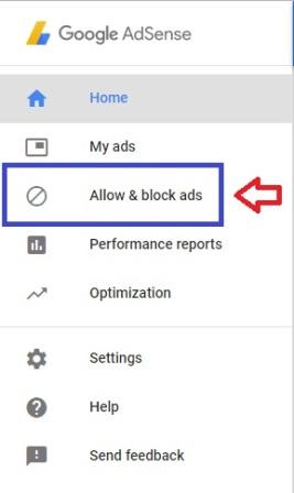 Fitur Allow and Block Ads