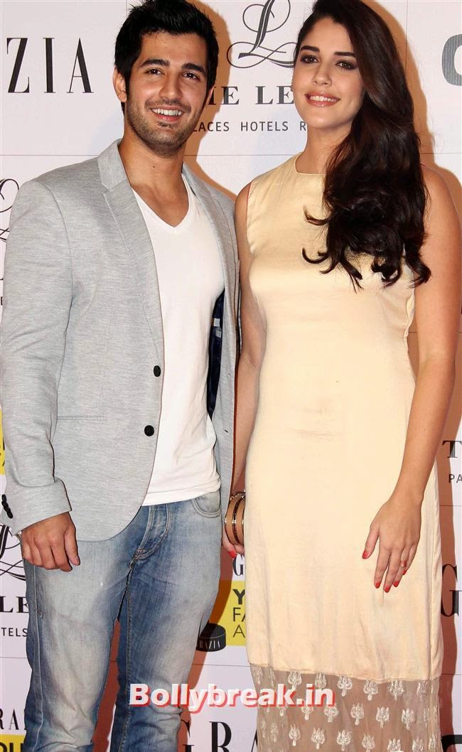 Aditya Seal and Izabelle Leite, Hottest Celebs of Bollywood at Grazia Young Fashion Awards 2014