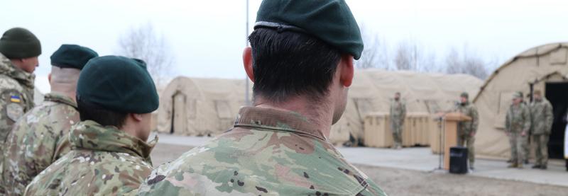 США передали навчальному центру ССО наметовий табір