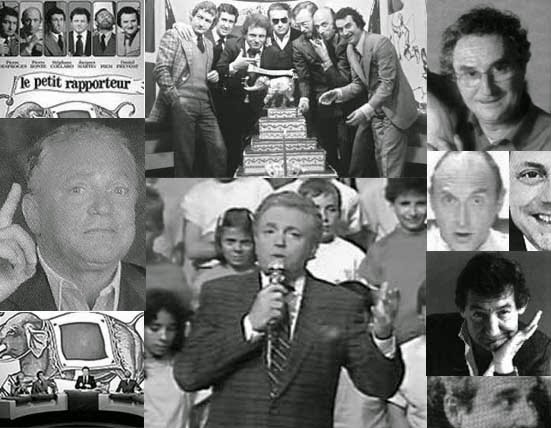 Composition d'images relatives au petit rapporteur et à l'école des fans