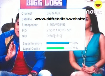 BIG Magic Channel added on DD Freedish at Channel no.49