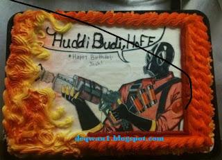 kue ulang tahun lucu unik