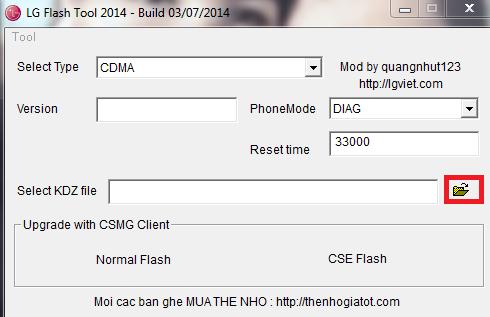 Cómo flashear LG Android con LG Flash Tool