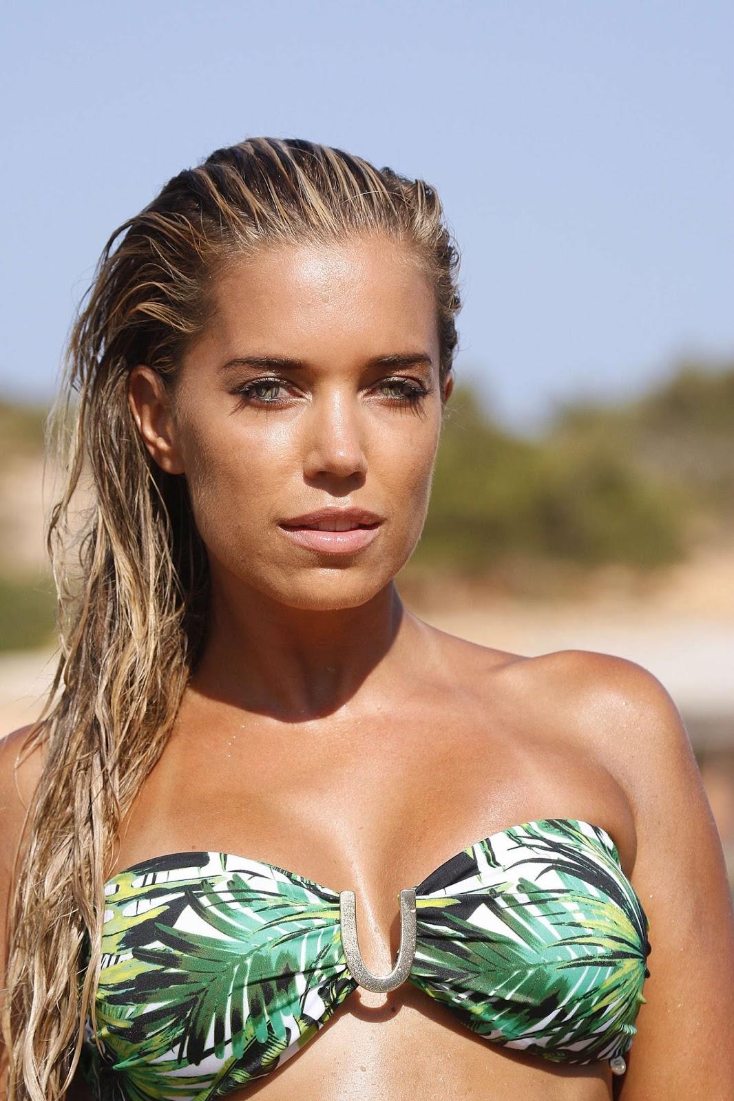 international celebrities sylvie van der vaart bikini photoshoot in ibiza. Black Bedroom Furniture Sets. Home Design Ideas
