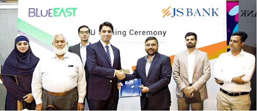 JS Bank & Blue East Form IoT Banking Alliance in Pakistan
