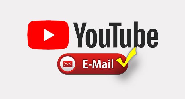 Youtube'a Mail Nasıl Gönderilir?
