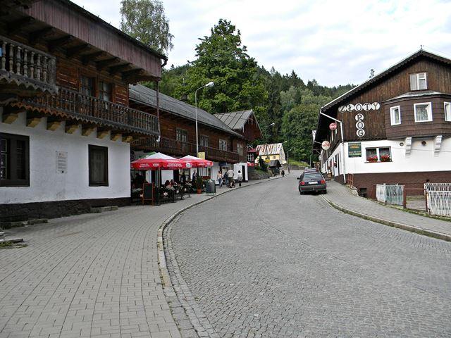 główna ulica, Złoty Róg, wypoczynek, sklepy