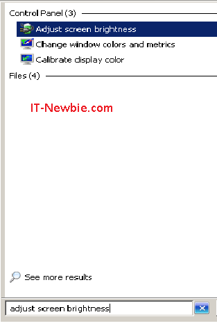 Cara Mengatur Brightness dan Kecerahan Layar Monitor Windows 7 dan 8