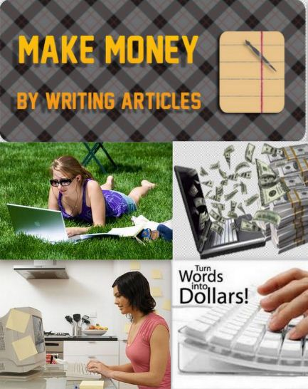 How can i earn money by writing articles