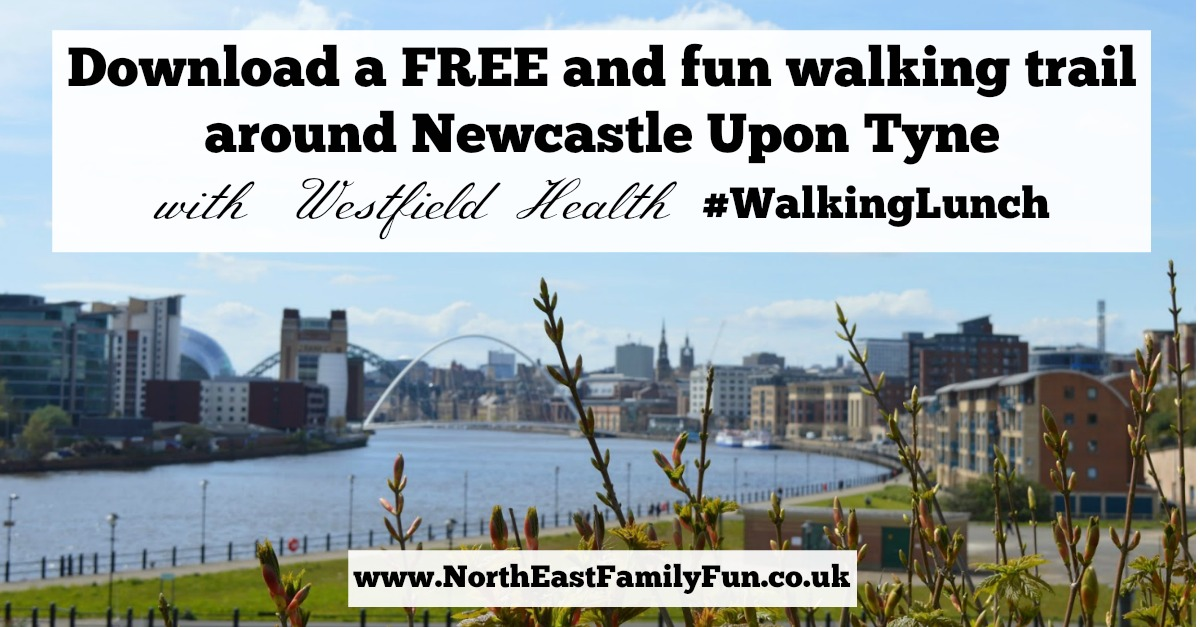 Download a FREE and fun walking trail around Newcastle Upon Tyne with Crumbs