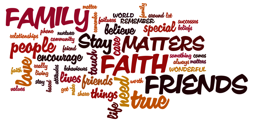 Releasing the Magic!: Faith, family and friends!