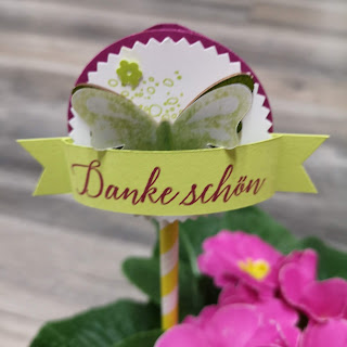 Blumenstecker im Nu selbstgemacht.
