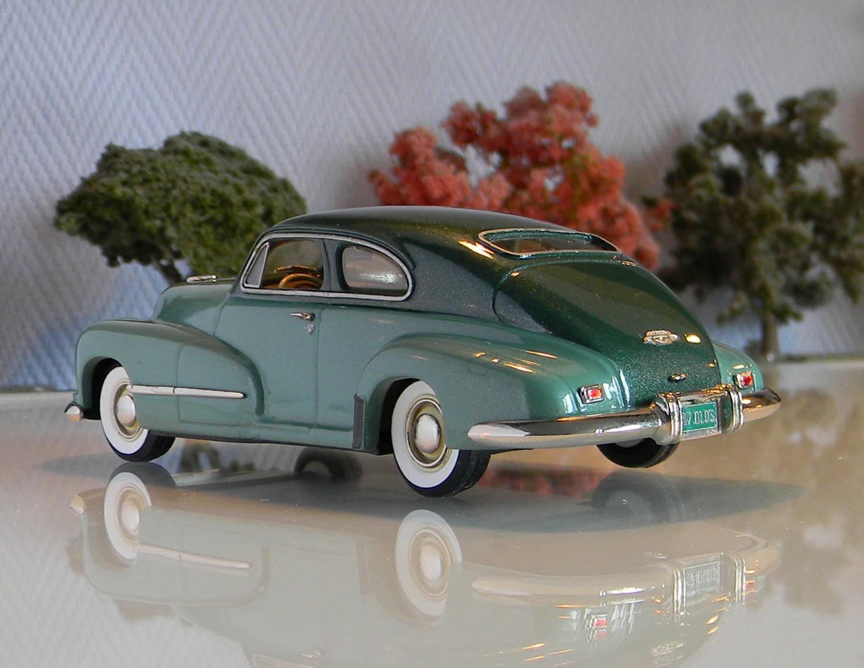 Voitures am ricaines 1 43 conquest models nr 23 for 1947 oldsmobile 4 door sedan