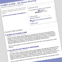 Cara Membuat Jump Break Otomatis Untuk Feed Blog