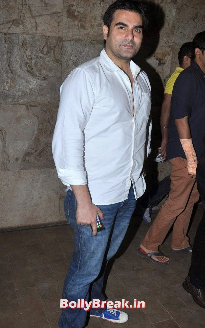 Arbaaz Khan, 'Humshakals' Movie Special Screening Pics