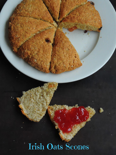 Irish fruits & Oats Scones