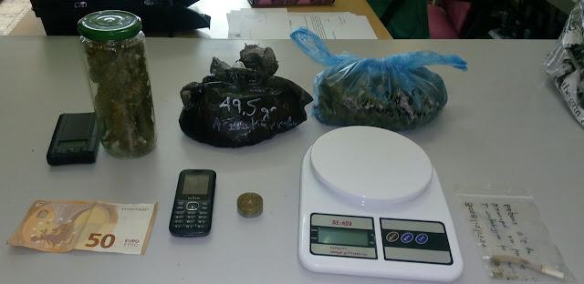 Συνελήφθησαν δύο ημεδαποί με 236,9 γρ. κάνναβης