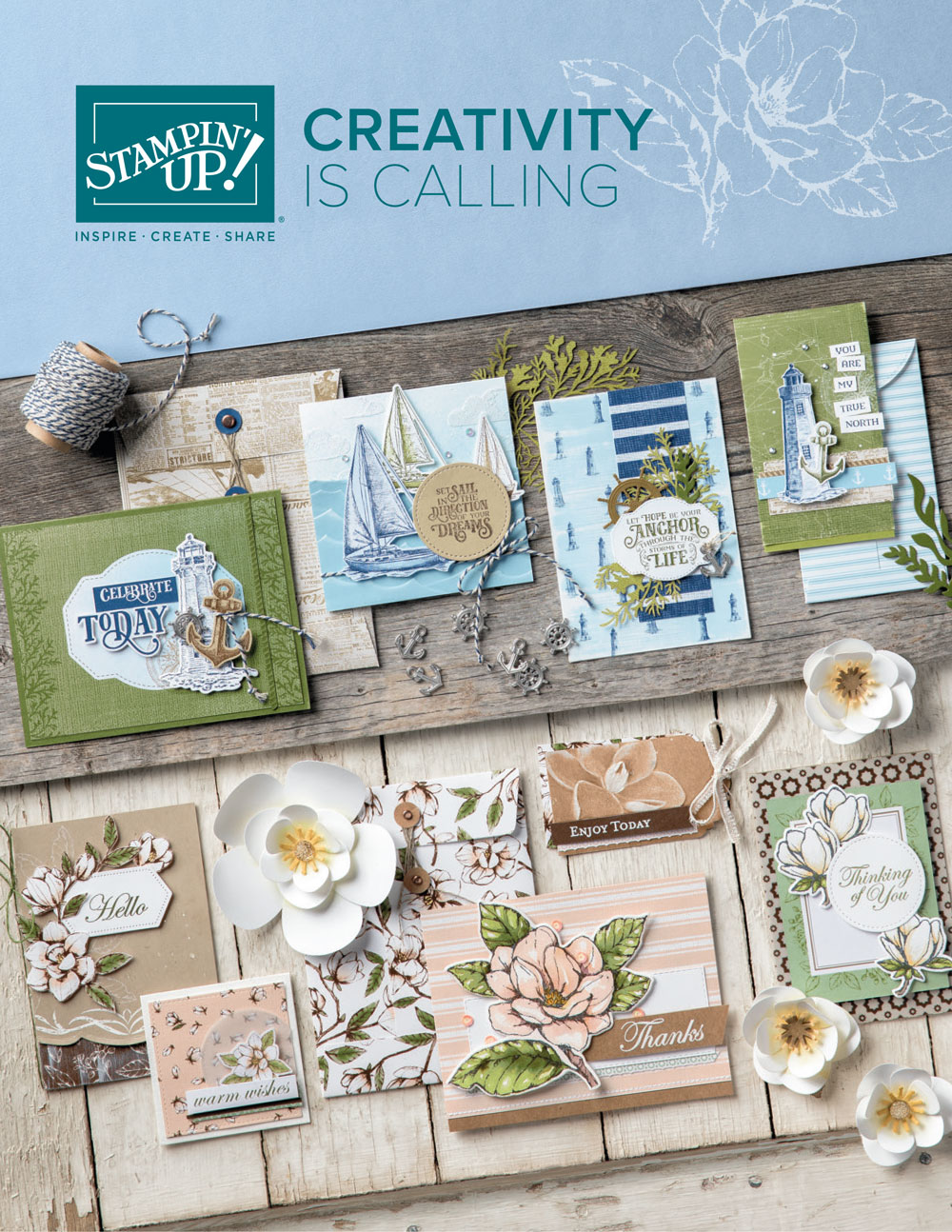 NEW Stampin' Up! Annual Catalog
