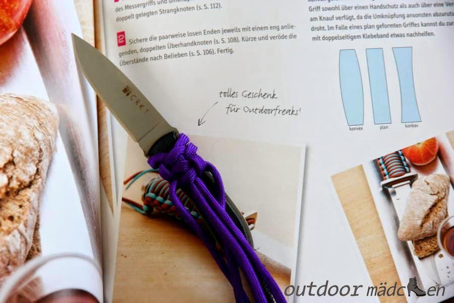 Messer mit Paracord umknüpfen