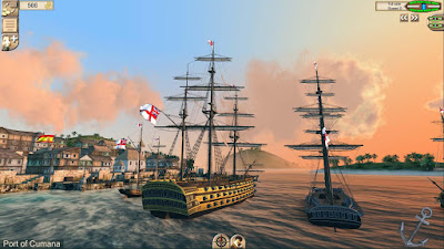 Tampilan Game The Pirate Caribbean Hunt