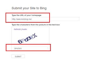 Bing Webmasters Tool