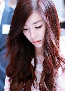 Gaya Rambut Panjang Korea Wanita