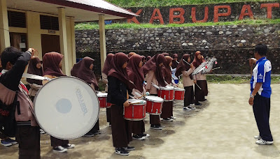 Drum Band SMK N 1 Batipuh