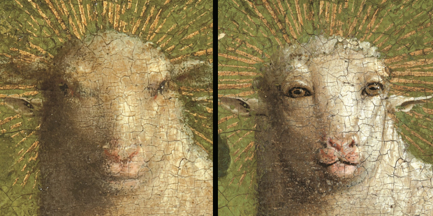 After all these years, the Lamb of God is looking at you.