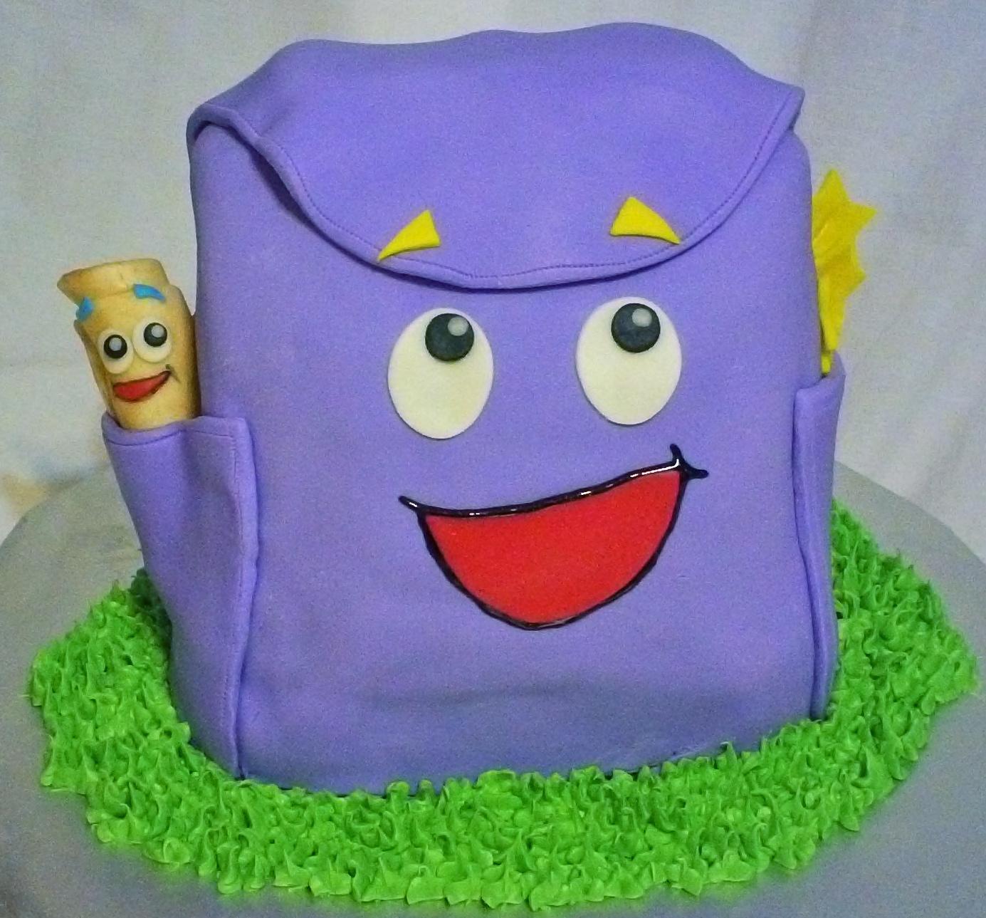 Debbie S Little Cakes Doar S Backpack Amp Map Vamanos
